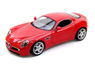 Alfa Romeo 8C Competizione Red 1/18 Scale Diecast Car Model By Bburago 12077