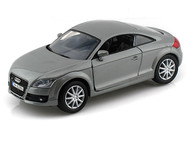 2007 Audi TT Coupe Silver 1/24 Scale Diecast Car Model By Motor Max 73340