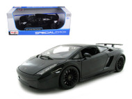 Lamborghini Gallardo Superleggera Black 1/18 Scale Diecast Car Model By Maisto 31149