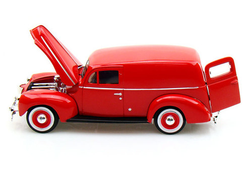 1940 Ford Sedan Delivery Red 1/24 Scale Diecast Car Model BY Motor Max 73250