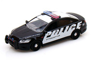 2013 Ford Police Interceptor 1/24 Scale Diecast Car Model By Motor Max 76920