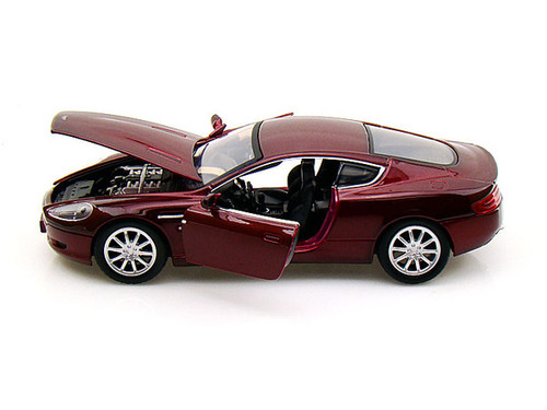Aston Martin DB9 Coupe Burgundy 1/24 Scale Diecast Car Model By Motor Max 73321
