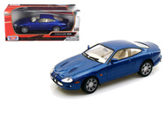 Jaguar XKR Blue 1/24 Scale Diecast Car Model By Motor Max 73339