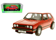 1983 VW Volkswagen Golf 1 GTI Red 1/18 Scale Diecast Car Model By Welly 18039