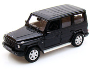 Mercedes Benz G Class Wagon Black 1/24 Scale Diecast Car Model By Welly 24012