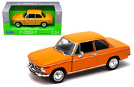BMW 2002Ti 2002 Ti Orange 1/24 Scale Diecast Car Model By Welly 24053