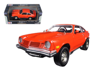 1974 Chevy Vega Orange 1/24 Scale Diecast Car Model By Motor Max 73311
