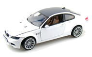 Motor Max 1/18 Scale BMW M3 Coupe White Diecast Car Model 73182