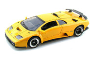 Motor Max 1/18 Scale Lamborghini Diablo GT Yellow Diecast Car Model 73168
