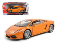 Lamborghini Gallardo LP560-4 Orange 1/18 Scale Diecast Car Model By Motor Max 79152