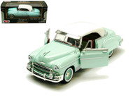 1950 Chevrolet Bel Air Light Green 1/24 Scale Diecast Car Model By Motor Max 73268