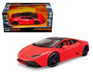 Lamborghini Huracan LP 610-4 Red Exotics 1/24 Scale Diecast Car Model Maisto 32503