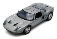 Ford GT Concept Silver 1/24 Scale Diecast Car Model By Motor Max 73297