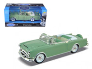 1953 Packard Caribbean Convertible Green 1/24 Scale Diecast Car Model By Welly 24016