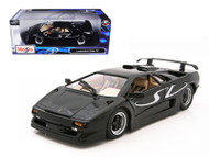 Lamborghini Diablo SV Black 1/18 Scale Diecast Car Model By Maisto 31844