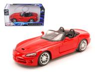 2003 Dodge Viper SRT-10 Red 1/24 Scale Diecast Car Model B Maisto 31232