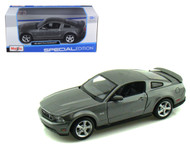 2011 Ford Mustang GT Grey 1/24 Scale Diecast Car Model By Maisto 31209