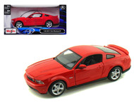 2011 Ford Mustang GT Red 1/24 Scale Diecast Car Model By Maisto 31209