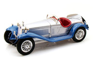 1932 Alfa Romeo 8C 2300 Spider Touring Blue 1/18 Scale Diecast Car Model By Bburago 12063