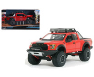 2017 Ford F-150 Raptor Red Truck 1/24 Diecast Car Model Off Road Kings By Maisto 32521