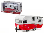 Greenlight 1/24 Scale Shasta 15' Airflyte Trailer Diecast Model 18225