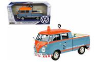 Volkswagen Type 2 Pickup Truck 1/24 Scale Diecast Car Model By Motor Max 79555