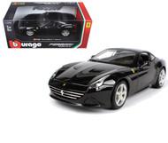 Ferrari California T Closed Top Black 1/24 Scale Diecast Car Model By Bburago 26002
