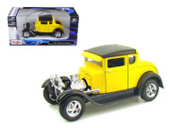 1929 Ford Model A Yellow 1/24 Scale Diecast Car Model By Maisto 31201