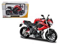 Benelli Tornado Naked Tre R160 Bike 1/12 Scale Motorcycle By Maisto 31195