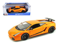 Lamborghini Gallardo Superleggera Orange 1/18 Scale Diecast Car Model By Maisto 31149