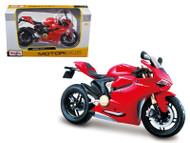 Ducati 1199 Panigale Red 1/12 Scale Motorcycle By Maisto 11108