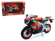 2009 Honda CBR1000RR Repsol Motorcycle 1/6 Scale Diecast Model By NewRay 49073