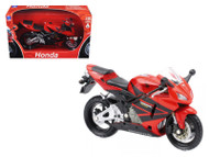 2006 Honda CBR600R Red Motorcycle 1/12 Scale Diecast Model By NewRay 42603