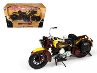 1934 Indian Chief Bike Motorcycle 1/12 Scale By NewRay 42113