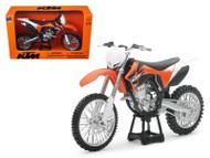 2011 KTM 350 SX-F Orange Dirt Bike Motorcycle 1/12 Scale By NewRay 44093