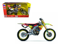 Suzuki Factory Racing RM-Z450 #7 James Stewart Dirt Bike Motorcycle Model 1/6 Scale By NewRay 49483