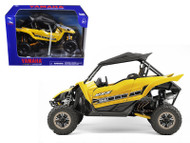 Yamaha YXZ 1000R Triple Cylinder Yellow Buggy 1/18 Scale Diecast Model By NewRay 57813