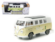 1962 Volkswagen Microbus Space Age Lodge Cream 1/18 Scale Diecast Model By Greenlight 12851