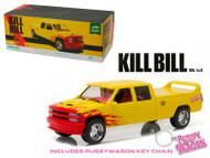 1997 Chevy C-2500 Silverado Pussy Wagon Kill Bill 1/18 Scale Diecast Car Model By Greenlight 19015