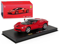 Ferrari LaFerrari Red Signature Series 1/43 Scale Diecast Car Model By Bburago 36902