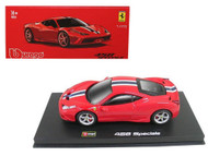 Ferrari 458 Speciale Red Signature Series 1/43 Scale Diecast Car Model By Bburago 36901