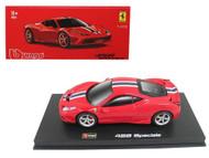Ferrari 458 Speciale Red Signature Series 1/43 Scale Diecast Car Model By Bburago 36901