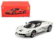 Ferrari LaFerrari White Signature Series 1/43 Scale Diecast Car Model By Bburago 36902