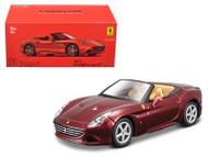 Ferrari California T Dark Red Open Top Signature Series 1/43 Scale Diecast Car Model By Bburago 36903
