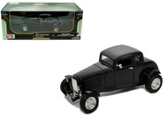1932 Ford 5 Five Window Coupe Black 1/18 Scale  Diecast Car Model By Motor Max 73171