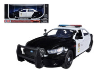 2013 Ford Police Interceptor LAPD Los Angeles Police Department Car 1/24 Scale Diecast Car Model By Motor Max 76948