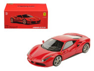 Ferrari 488 GTB Red Signature Series 1/43 Scale Diecast Car Model By Bburago 36904