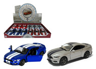 "2015 Ford Mustang GT Box Of 12 Pull Back 5"" 1/38 Scale By Kinsmart KT5386"