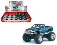 """Dodge Ram Off Road Truck Toy Box Of 12 Pull Back 5"""" 1/44 Scale By Kinsmart KT5338"""