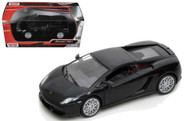 Lamborghini Gallardo LP-560-4 Matt Black 1/24 Scale Diecast Car Model By Motor Max 73362